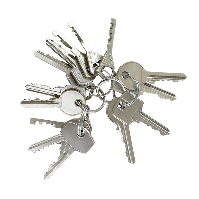 Famous Locksmiths' bunch of keys